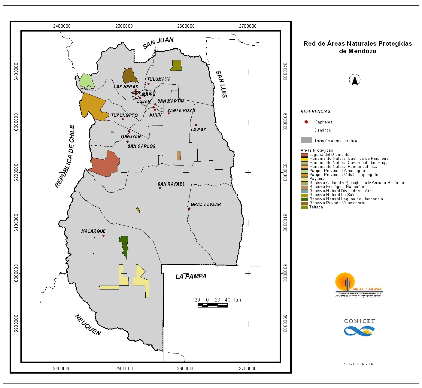 Red de Áreas Naturales Protegidas de Mendoza